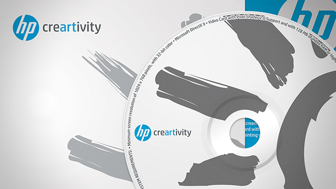 HP Creartivity CD and Paper Sleeves